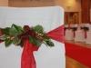 Karácsonyi dekoráció esküvőre